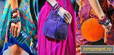 Модные сумки лето 2012