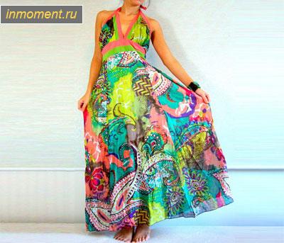 Модные сарафаны лето 2013