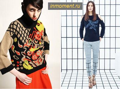 Модные пуловеры 2015
