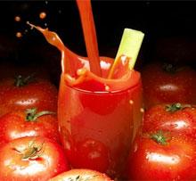 Как пить томатный сок как похудеть на