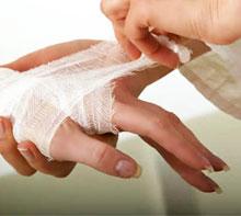 Лечение и заживление порезов