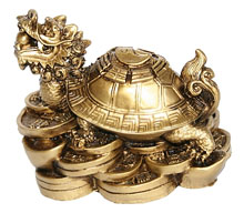 Талисман фен-шуй – черепаха: значение и материал амулета