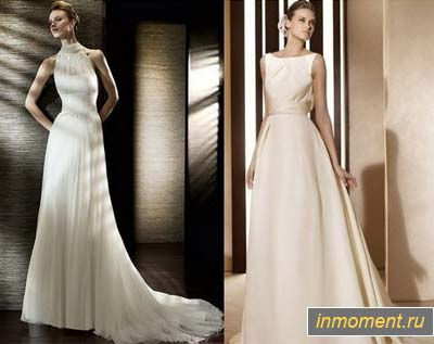 Свадебные платья в стиле винтаж.