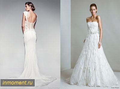 Модные свадебные платья зима 2014/2015. Женский сайт www.InMoment.ru