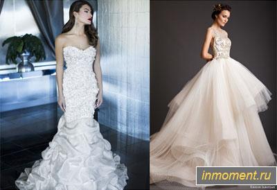 Свадебные платья 2015 русалочка