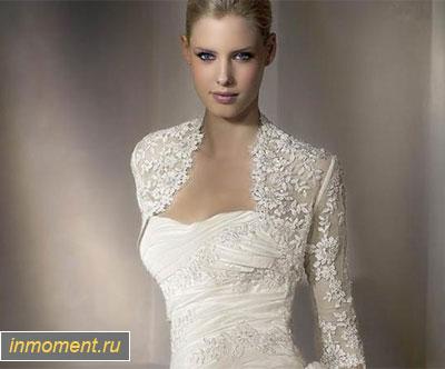 Свадебная мода осень 2014. Чтобы вам не испортил настроения прохладный осенний холодок, дополните свое платье изысканной накидкой или актуальным болеро