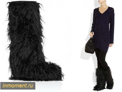 Самые модные зимние женские сапоги 2015 года