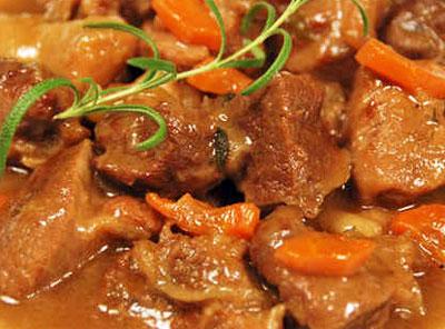 рецепты говядины тушеной в пиве с картофелем