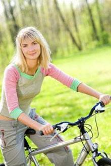 Велосипед для похудения. Женский сайт www.InMoment.ru
