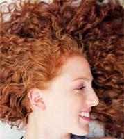 Вьющиеся волосы от природы