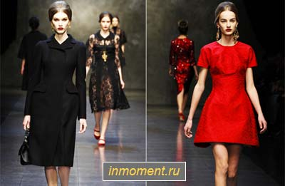 Модные платья зима 2013 2014. Женский сайт www.InMoment.ru 5b24ba3631e