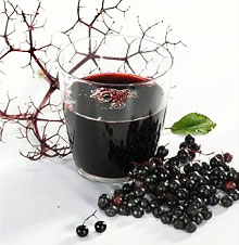 лечение бузиной черной ягодами