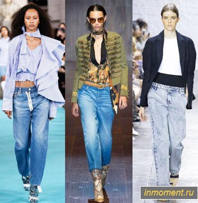 032c2b91a42f4fa Модные женские джинсы осень 2018 - тренды и фото!