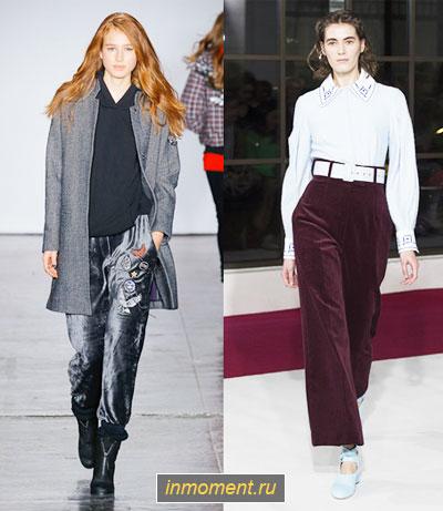 b65b2e9411cf Самые модные женские брюки зима 2018-2019