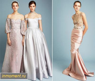 c035464314f2f48 Самые модные вечерние платья осень 2018 - новинки и фото