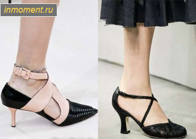 Модные женские туфли 2019