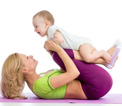 Фитнес после родов: когда и с чего начинать