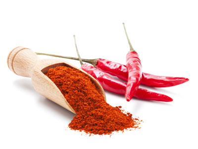 Маски с красным перцем