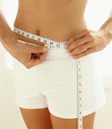 Массаж для похудения живота