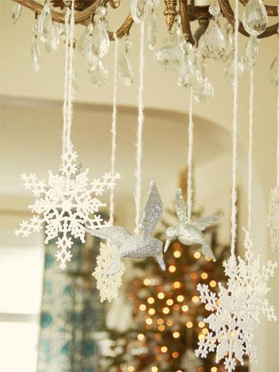 Новогодние украшения на окна своими руками фото 888