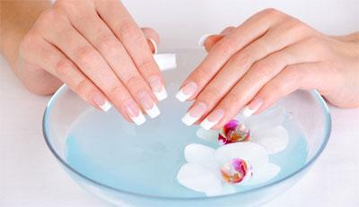 Как делать солевые ванночки для рук