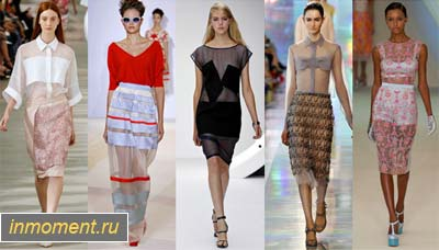 bb96ec4e2d3 Модные блузки весна 2013. Женский сайт www.InMoment.ru