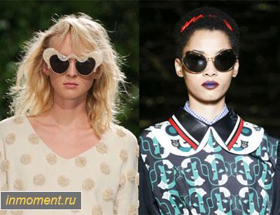 Модные солнцезащитные очки весна 2016. Женский сайт www.InMoment.ru 32181b61f8597