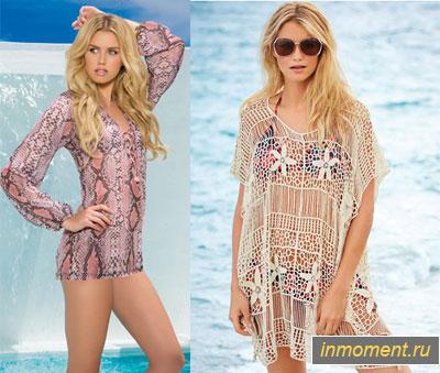 c20c0ef2473 Пляжная мода 2015. Еще прошлым летом в моде были туники для пляжа ...